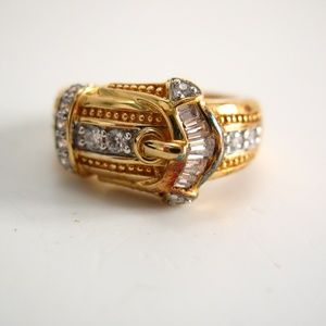 Victoria Wieck Absolute CZ Baguette Ring Size 7